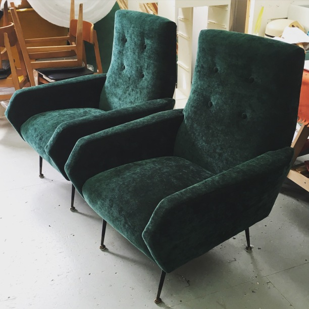 Vintage Italian chairs