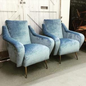 Vintage Italian chairs